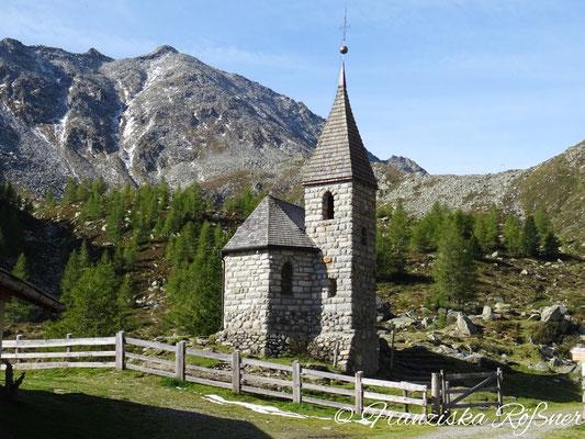Die kleine Kirche an der Gögealm