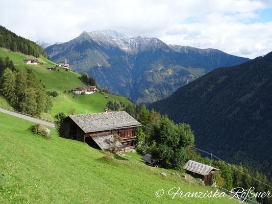 Almwanderung durchs Mühlwalder Tal