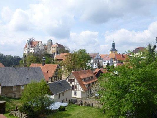 Blick auf Hohnstein