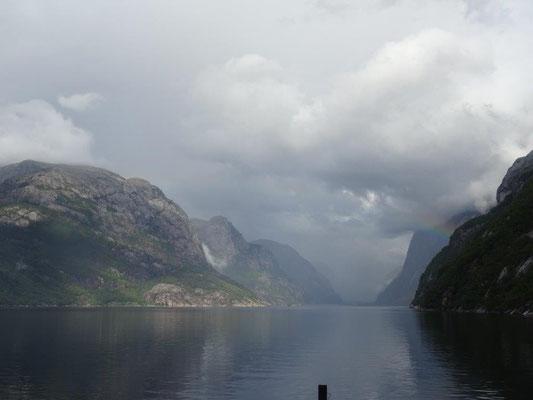 Im hinteren Lysefjord