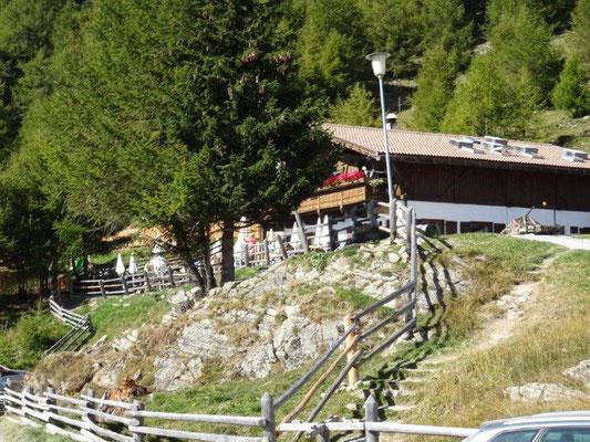 Die Reschener Alm auf 2000 m Höhe