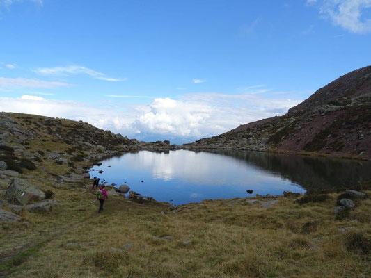Der Totensee auf der Villanderer Alm