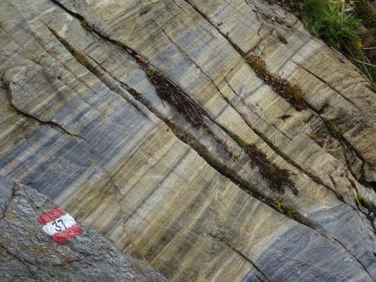 Einzigartige geologische Formen und Farben