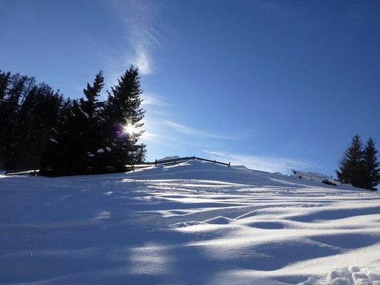 Winterlandschaft bei Virgen