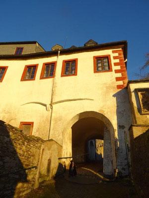 In Sachsen gibt es nur vier erhaltene mittelalterliche Stadttore - das Mühltor in Wolkenstein ist eines davon.