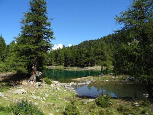 Ein traumhaftes Fleckchen Erde - der Zirmtal See