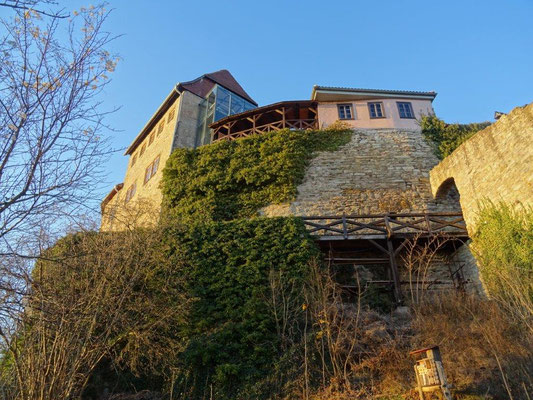 Unterhalb der Creuzburg