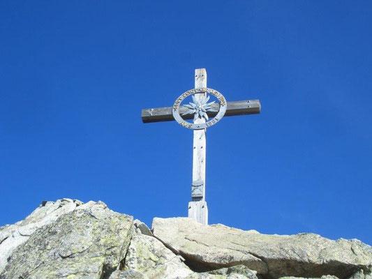 Gipfelkreuz auf dem Großen Ifinger