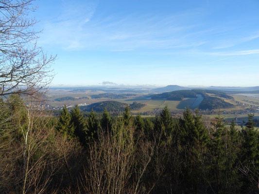 Blick vom Scheibenberg