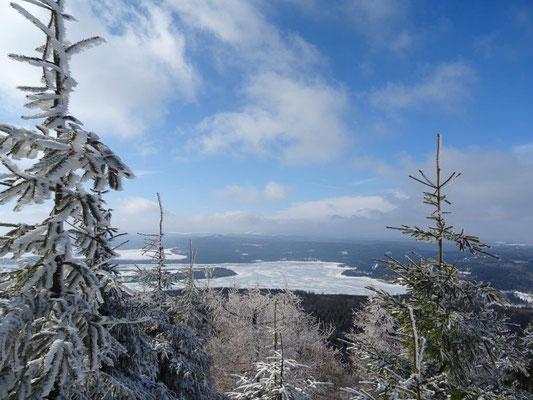 Wunderbare Aussicht auf dem Haßberg