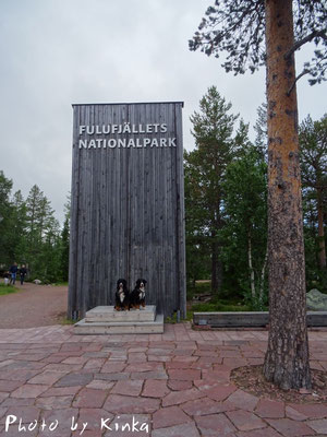 Eingang zum Nationalpark Fulufjället