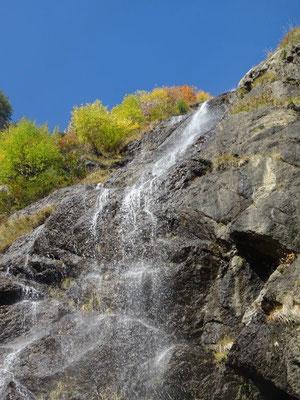 Wasserfall am Meraner Höhenweg
