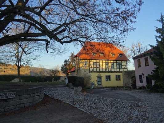 Auf der Creuzburg