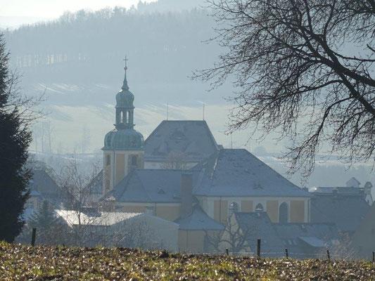 Die Kirche von Wolkenstein