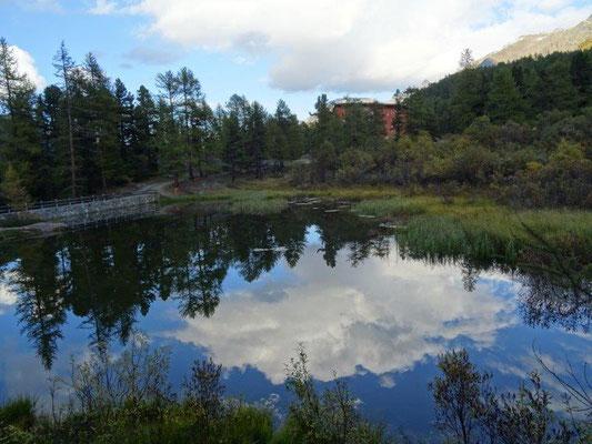 Kleiner Teich am ehemaligen Hotel Paradiso