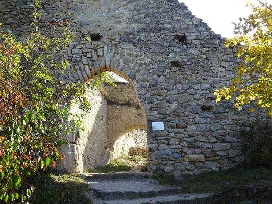 An der Ruine Dürnstein