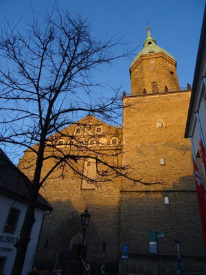 Die mächtige Kirche St. Annen in Annaberg-Buchholz