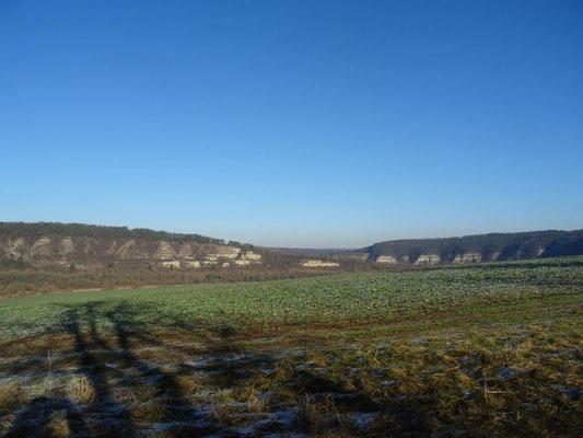 Das Werratal unterhalb von Creuzburg