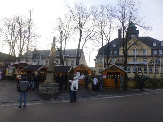 Kleiner Weihnachtsmarkt in Oberwiesenthal