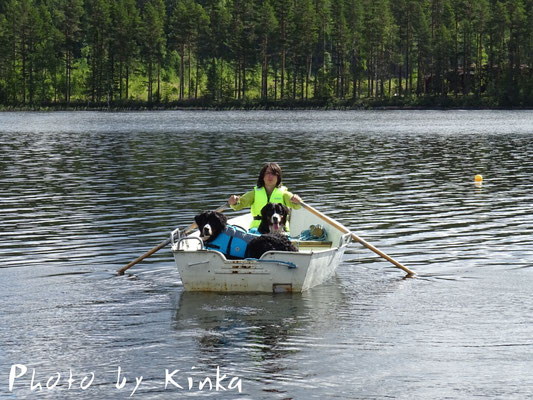 Rudertour auf dem Rävsundsjön