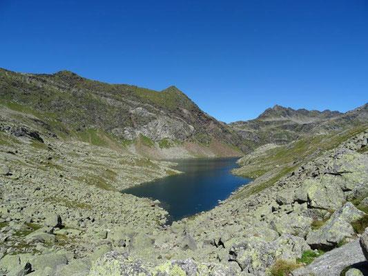 Blick auf den Langsee