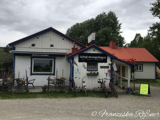 Pause in der Klövsjö Stenugnsbageri