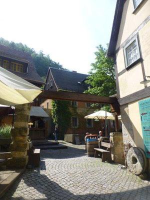 Hof der Schmilk'schen Mühle