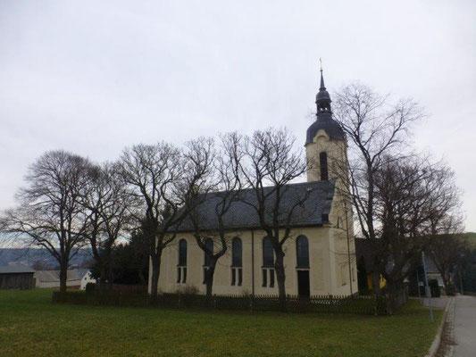 Das Berbisdorfer Kirchlein