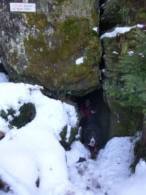 Der Eingang zur Bennohöhle
