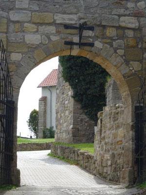 Tor zur Veste Wachsenburg