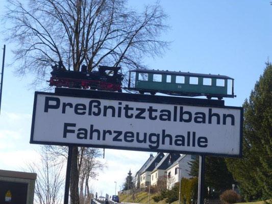 Die Pressnitztalbahn begleitet uns auf unserer Tour