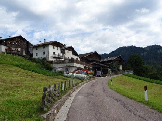 Der Weiler Matzlaun in Deutschnonsberg