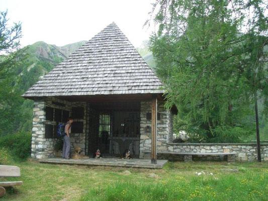 Die Bergsteiger-Gedächtniskapelle bei Kals