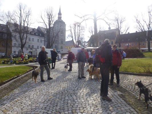 Samstag ist Markttag :-)