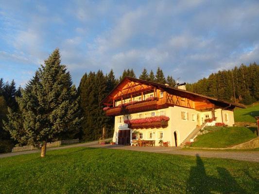 Der Parjöhlerhof, unsere Unterkunft für eine Woche