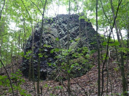 Basalt am Großen Winterberg