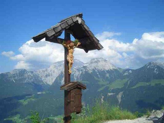 Gipfelkreuz auf dem Grünstein