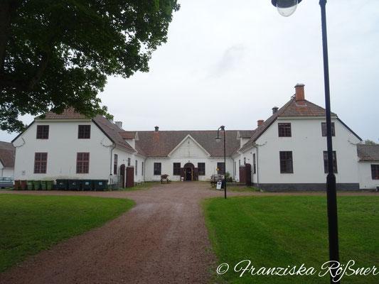 Gebäude der ehemaligen Fabrik in Gysinge
