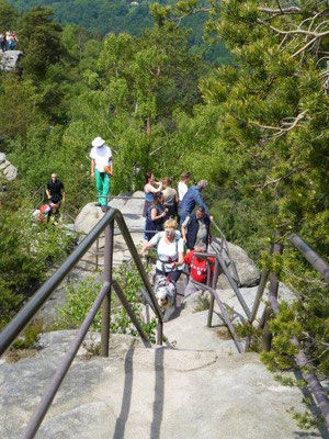 Auf dem Rauensteingratweg