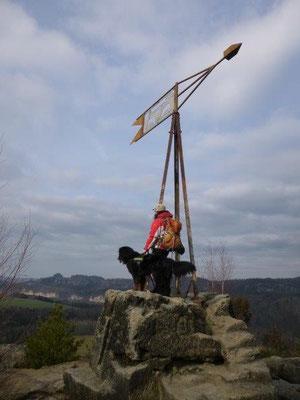 Auf dem Gipfel der Kaiserkrone (Foto: Kaj Kinzel)