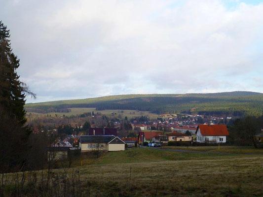 Blick auf Tambach-Dietharz