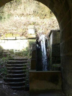 Auch am Schiebbach gab es früher eine Mühle.