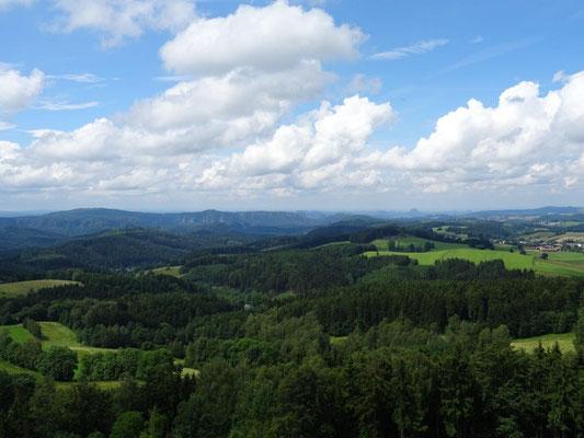 Wundervoller Blick vom Weifbergturm