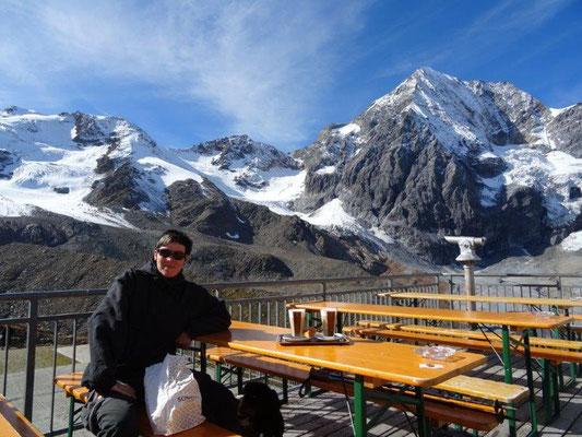 Frühstück an der Bergstation