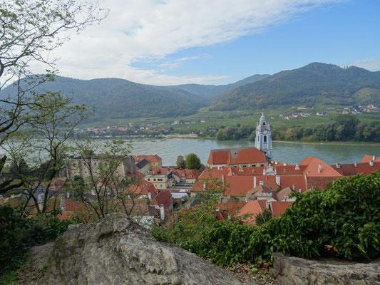 Blick über Dürnstein