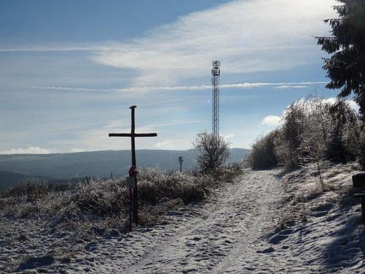 Am Waldrand oberhalb von Neudorf