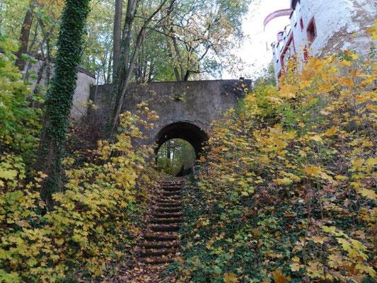 Auffahrt zum Burgtor