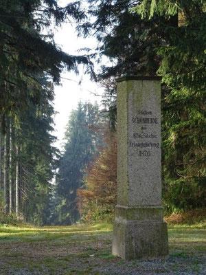 Die Vermessungssäule der Königlich Sächsischen Triangulierung