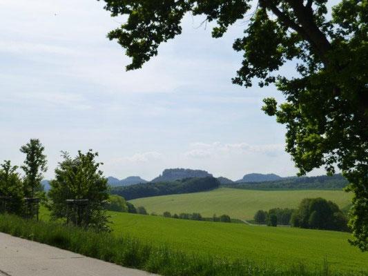 Die Tafelberge sind eines der Wahrzeichen der Sächsischen Schweiz
