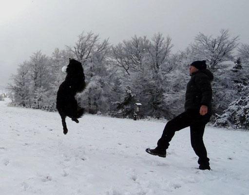 Und Vreni hatte ihren Spaß :-)
